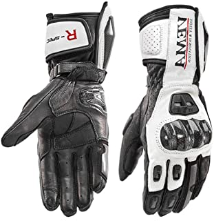 4b2e3384 Amazon.es: guantes moto impermeables - Blanco