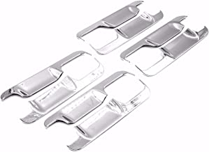 erushautoparts Ultra Chrome Door Handle Bowls Covers for 2015-2017 Ford F150