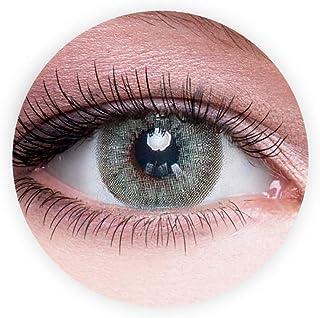 Dahab Contact Lenses, Original Unisex Dahab Cosmetic Contact Lenses, 9 Months Disposable- Eye Enlargement Collection, Gray...