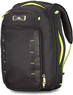 High Sierra AT8 Laptop Backpack, Black/Zest, 45 L Capacity