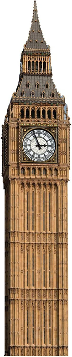 Advanced Graphics 151 Big Ben Clock Tower Cardboard StandUp