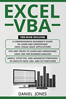 Excel VBA: 3 Books in 1- A Comprehensive Beginners Guide+ Tips and Tricks+ Simple, Effective and Advanced Strategies to learn Excel VBA