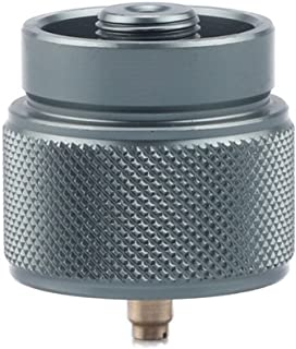 LPG Adapter 1L Propane Small Tank Input EN417 Lindal Valve Output (Propane Tank Adapter)