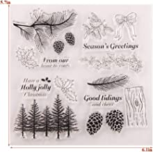 KANGneei Clear Stamp DIY Sympathy Silicone Clear Stamps Scrapbooking Photo Album Paper Card Art Crafts Decor