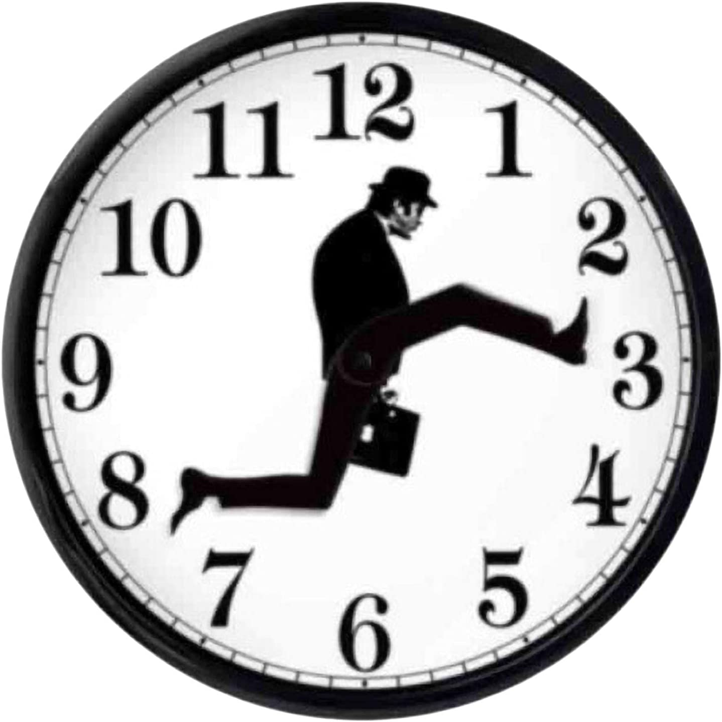 GUANGLU Special Campaign Ministry of Silly Walks Artwo Mail order Clock Wall Creative
