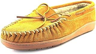 Minnetonka Mens Trevor Traditional Trapper Leather Closed, Cinnamon, Size 10.0