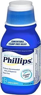 Milk Of Mag Reg Size 12z Phillips Milk Of Magnesia Laxative & Antacid In Original Flavor