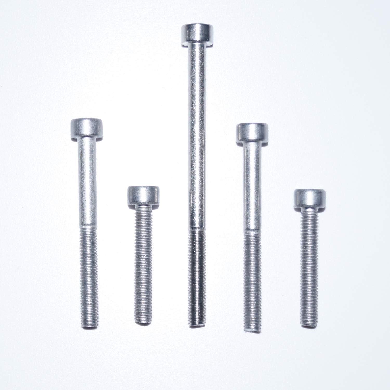 Zylinderschrauben mit Innensechskant M3X6 20 St/ück DIN 912 A2 Edelstahl