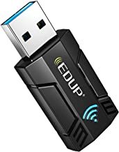 EDUP AC 1300Mbps USB WiFi Adapter for PC USB 3.0 Wireless Dongle, 5Ghz /2.4Ghz Dual Band 802.11ac Network Adapter for Desk...