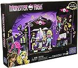 Mega Bloks Jouet Monster High Graveyard Garden Party» 371pièces avec Cleo de Nile et Lagoona Bleu