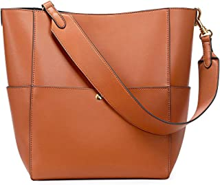 Kattee Hobo Bags for Women, Leather Tote Purses and Handbags Work Bucket Bag