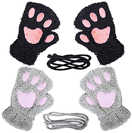 50% OFF Womens Cat Paw Gloves