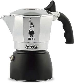 Bialetti Brikka Aluminium stovetop Coffee Maker (2 Cup)