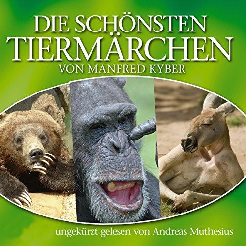 『Die schönsten Tiermärchen von Manfred Kyber』のカバーアート