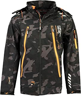 Coupe large Geographical Norway Veste /à Capuche Torry Men Camo 007 Homme Softshell Sport
