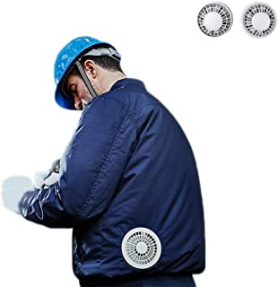 Homeself Cooling Jacket with Fan, Air-Conditioned Workwear for High Temp Worker