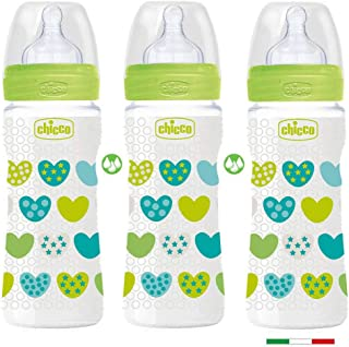 made in Italy Chicco Perfect-5 ANTI-KOLIK Equilibrium Membrane Baby Flasche 160ml 2er Pack ab Geburt neutral
