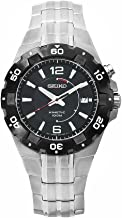 Seiko Men's SKA445P1 Stainless-Steel Analog with Black Dial Watch