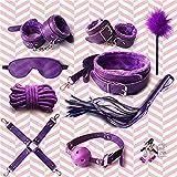 Penade Correa de Nylon púrpura Cómoda, Suave, Alegre, Kits de Juguetes, Sistema de Gimnasia Acolchado con Neopreno
