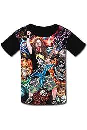 Boys Shirts Dimebag-Darrell Girls Tee Shirt Youth Short Sleeve Teenager Youth T-Shirts Top