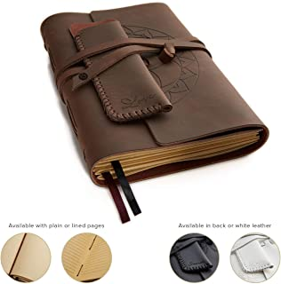 Leather Journals for Women and Men + Pen Holder | 8