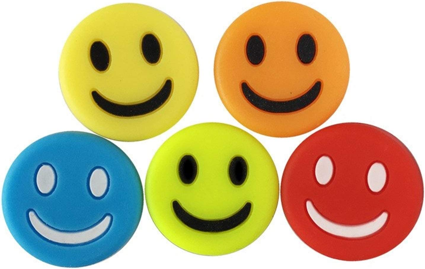 WESET Smiling Tennis Japan's All items in the store largest assortment Vibration Dampers Sho Funny Reduce Dampener