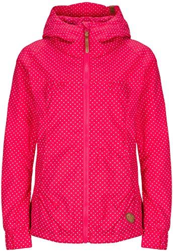 Alife & Kickin Black Mamba Jacket Damen Uebergangsjacke, fuchsia dots, S