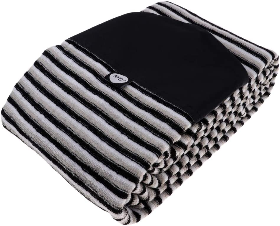 Tongina 5' Atlanta Max 72% OFF Mall to 10.6' Elastic with Sock Cover Drawstring Surfboard