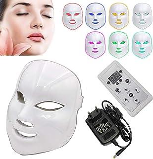 NBD® Led-lichttherapie-masker met fotonmasker met gezichtsbewijs, huidverjonging, lichttherapie, behandelingsmasker.