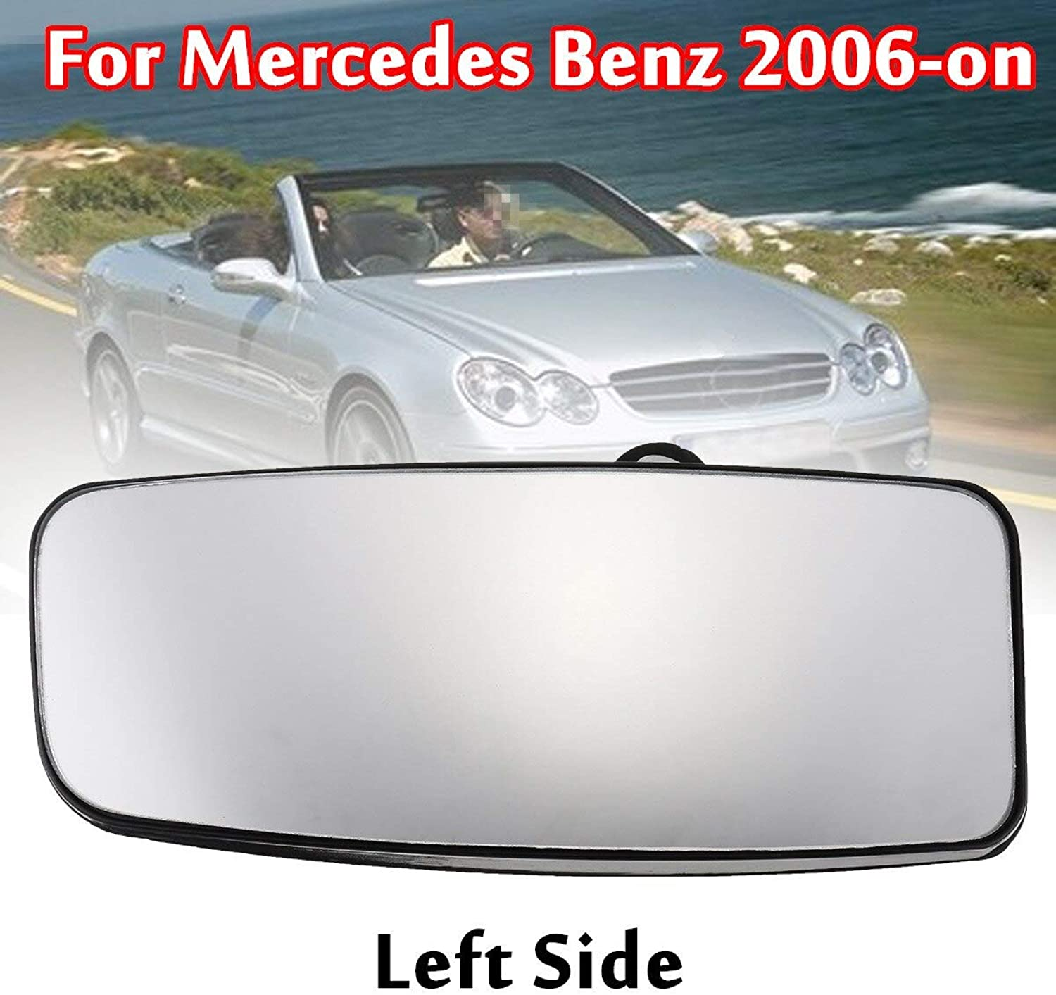Gift4Car  Car Left Right Rear Mirror Door Wing Mirror Glass Slide Passanger Driver Side for MercedesBenz 2006on
