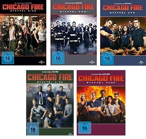 Chicago Fire - Staffel 1-5 (30 DVDs)