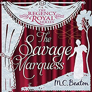 The Savage Marquess cover art