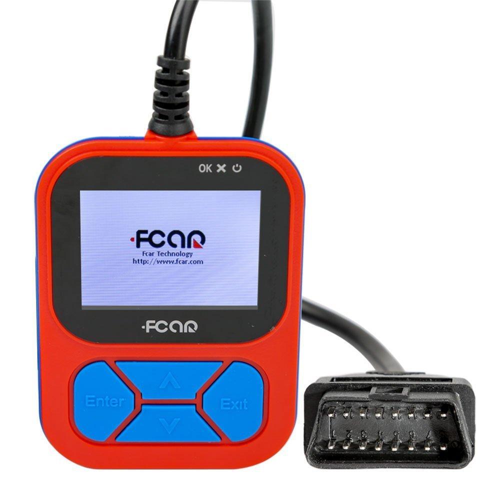 FCar F502 heavy duty truck handheld code reader/scanner 2nd edition