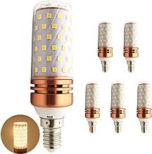 SGJFZD LED Lamp E14 LED Bulbs 60LED SMD2835 10W 1000 Lumens Aluminum Plate Corn LEDs Light Candle Bulbs AC85-265V (5PCS) (...