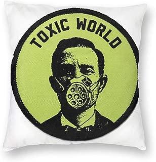 FZDB Pillow Case Plush Toxic World Sofa Pillow Office Pillow Bed Backrest Car Cushion Lumbar Pillow Custom