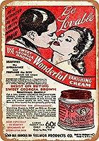 Sweet Georgia Brown Wonderful Vanishing メタルポスター壁画ショップ看板ショップ看板表示板金属板ブリキ看板情報防水装飾レストラン日本食料品店カフェ旅行用品誕生日新年クリスマスパーティーギフト
