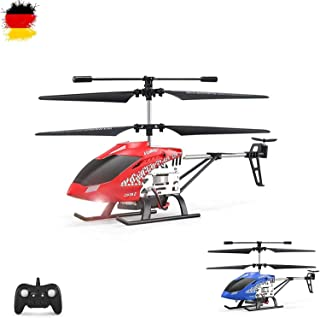 GoStock Helicóptero teledirigido Juguetes Aviones 3.5-Channel RC Helicopter for Kids