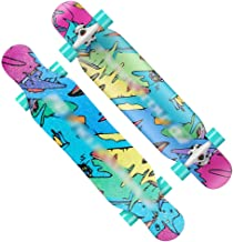 Asdfnfa Skateboard Freestyle Longboards Maple Dancing Skateboard Cruiser for Adult Kids Beginners Girls Boys (Color : #4)