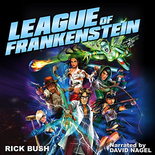 League of Frankenstein audiobook cover art