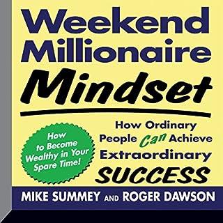 Weekend Millionaire Mindset audiobook cover art
