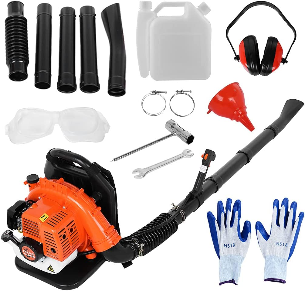 Leaf Blower 2.3HP Ranking TOP13 63CC 2 Blowe Backpack Max 88% OFF Powered Gas Stroke