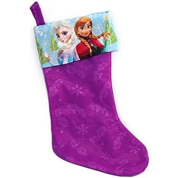 Disney Princess 18 Felt Christmas Stocking with Printed Satin Cuff