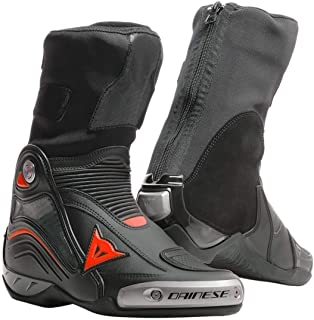 Dainese Axial D1 Motorcycle In Boots - Black/Flou Red - 42 Eu