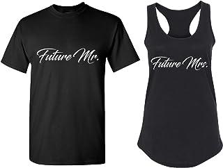 Couples Apparel Bachelor Party Matching Bachelorette T Shirts - Bridal Tank Tops