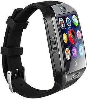 SmartWatch, 1.54 pulgadas Bluetooth SmartWatch Q18 Reloj de pulsera compatible con cámara NFC TF tarjeta reloj inteligente...