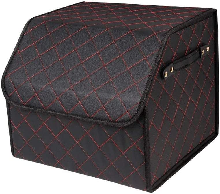 Car Travel Trunk Organizer Box - Auto Leather Special price Cheap mail order shopping PU U Back Foldable