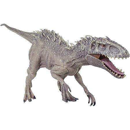 TANIREN 恐竜フィギュア インドミナスレックス 肉食恐竜 PVC素材 迫力 リアル 模型 おもちゃ