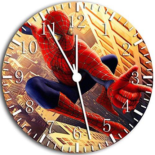 Spiderman Spider Man Wanduhr 25,4 cm Will Be Nice Gift und Raum Wand Decor W65