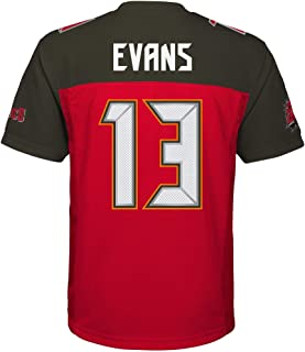 Outerstuff Mike Evans Tampa Bay Buccaneers #13 Red Youth Home Mid Tier Jersey