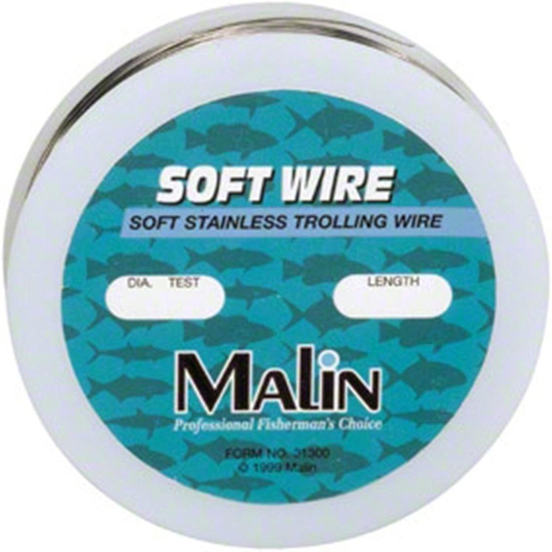 Malin Soft Stainless Steel 300Foot Trolling Wire